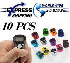 10 Digital Elektronik Handzähler Fingerzähler LCD Tasbih Finger Islamic Zikr