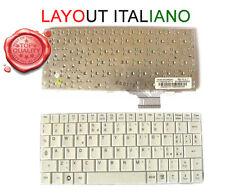Tastiera Italiana Bianca Per Asus EE PC EEEPC 700 701 900 901 Averatec 1020