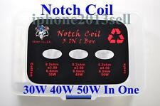 Fit Wismec Theorem Notch Coil Ss316L Heating Wire 3 Type 18 Pcs Tools & Cotton