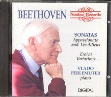 BEETHOVEN - Piano Sonatas 23 & 26 / Eroica Variations - Vlado PERLEMUTER