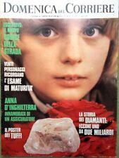 La Domenica del Corriere 4 Luglio 1972 Diamanti Chanel Monaco Riva Giannini Mimì