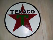 """TEXACO  Wall hanging 12"""" Dia +-"""