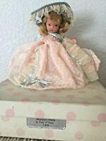 "Vintage Nancy Ann Storybook Doll ~ #180 Monday's Child Bisque JT PT 5.5"" Box"