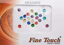 Bindi bijou de peau front bollywood Faux Piercing Multicolore  5 mm INF D 2472