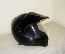 CASCO ARAI TOUR X dimensione XS 53 54 Nero Black MX CROSS HELMET Supermoto Nuovo to