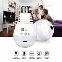 360 ° Panorama IP Kamera Mini CCTV Camera Wireless HD 960P WLAN Nachtsicht Birne