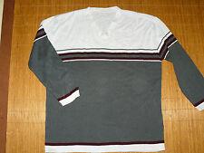 Gestreifte Street One Damen-Pullover aus Baumwolle
