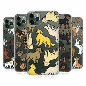 HEAD CASE DOG BREED PATTERNS 3 SOFT GEL CASE & WALLPAPER FOR APPLE iPHONE PHONES