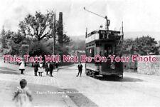 LA 549 - Halliwell Tram Terminus, Bolton, Lancashire c1905 - 6x4 Photo
