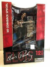 "McFarlane Elvis Presley the King 68 Comeback Special 12"" very Rare"
