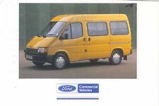 Ford Transit SWB 12 Seat Bus Original postcard FB 1529
