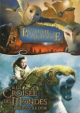 """DVD """"LE ROYAUME DE GA'HOOLE  + A LA CROISEE DES MONDE"""" neuf sous blister"""