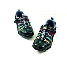 Sketchers Bella Ballerina Girls Spin Shoes Sneakers Black {Purple Trim Size 11