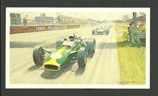 Jim Clark Lotus Ford Grand Prix Motor Car Australian Racing Card #35