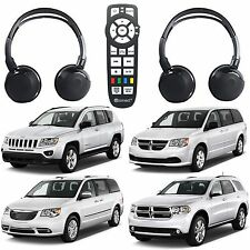 uConnect Headphones & DVD Remote For 2007-2017 Dodge Chrysler Jeep Mopar New USA