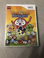 NEUF NEW tamagotchi party on nintendo WII sealed blister