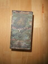 Antique Vintage Egyptian Cigarette Tin Nestor Gianaclis Cairo Case Tobacco Adv