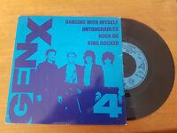 DANCING WITH MYSELF EP // GEN X UK PUNK CHRYSALIS 1981 BILLY IDOL