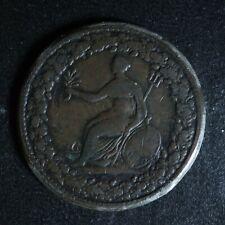 LC-54B1 Halfpenny token 1813 Lower Bas Canada Spread Eagle Breton 994