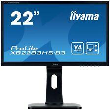 Iiyama Prolite xb2283hs 21.5 Pulgadas Monitor LED - Full HD,4 ms,Altavoces,HDMI