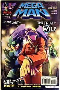 MEGA MAN COMIC BOOK #36 Variant June 2014 SHADOW OF RA MOON Pt 3 Bagged NM