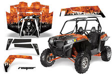 AMR Racing Polaris RZR 900XP Sticker Graphic Kit Decal UTV Parts 11-14 REAPER O