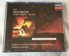 Verdi: Macbeth (CD, Jan-1992, 2 Discs, London) Grand Opera. Taddei Nilsson,