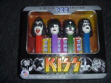 KISS PEZ 2012 LIMITED EDITION TIN NEW DISPENSER GENE SIMMONS PAUL STALEY