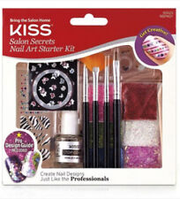 KISS SALON SECRETS NAIL ART KIT 60523 BUTTERFLY ZEBRA GLITTER ***BRAND NEW***