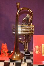 Gorgeous Besson Sovereign 928GS Bb Cornet 1991 Large Bore Case Mtpc British Made
