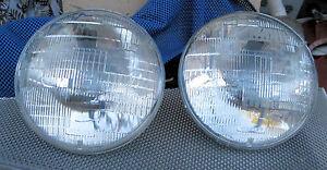 Corvette 1955 1956 1957 Headlight Wagner  Beam Bulbs new Head lamp light