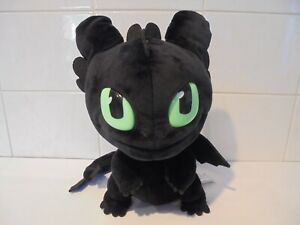 HOW TO TRAIN YOUR DRAGON TOOTHLESS SOFT PLUSH TOY SQUEEZE & GROWL, MOVES