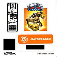 Tread Head Skylanders Trap Team Sticker Code Only!