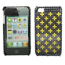 Cover e custodie Per iPhone 4 in plastica con strass, gioielli per cellulari e palmari