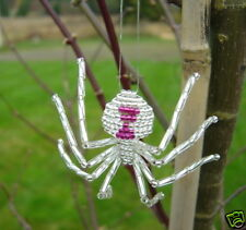 SILVER WIDOW BEADED SPIDER KIT