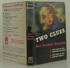 ERLE STANLEY GARDNER Two Clues INSCRIBED FIRST EDITION