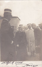 * VITTORIO EMANUELE III E MODIANO - Incidente Automobilistico 1904 Fotocartoline