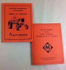 Heavy equipment manuals books ebay allis chalmers model b tractor service operators owners manuals repair shop fandeluxe Gallery