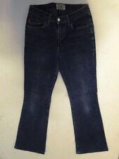Highlands  Jeans Hose Schlaghose Dunkelblau Stonewashed W30 L32