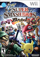 Super Smash Bros. Brawl (Nintendo Wii, 2008) Complete w/ Manual - Tested