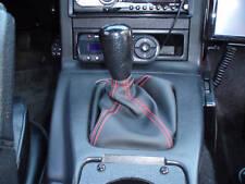 Shift Boot Mazda Miata Mx-5 mx5 Black w/ Red Stitching