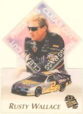 Nascar Trading Card Rusty Wallace -Clear Cut-97 Diecut
