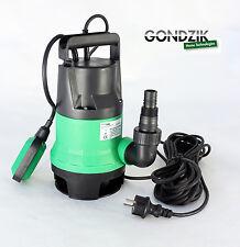 Schmutzwasserpumpe 400 W 7 5m³/h Tauchpumpe Gartenpumpe Brunnenpumpe Ght400sw