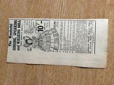q2-1 ephemera 1953 advert harrow sales singing speaking walking doll