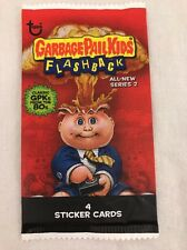 WHITE Border Unopened Pack GPK Garbage Pail Kids Flashback Series 2 dollar tree