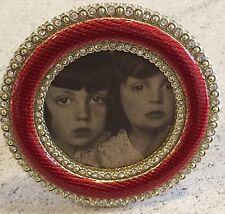 Faberge Enamel Crystal Round Oval Photograph Frame Metropolitan Museum Of Art