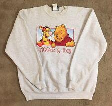 Vintage 90s Winnie The Pooh And Tigger Peep Thru Crew Neck Size XL Extra Large