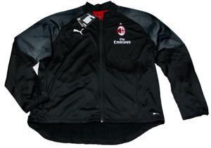 PUMA AC Milan Stadium Poly Jacket schwarz rot AC Mailand Fußball DRYCELL 754864
