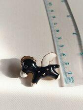 Craft scrapbooking jewelry mixed media Large beautiful brooch pin badge gift