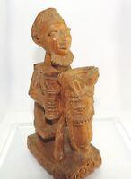 Holzfigur Skulptur Ile-Ife Nigeria Afrika Handgeschnitzt Kunst